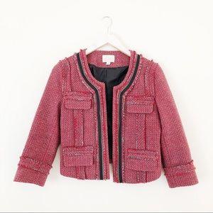 Hinge Tweed Wool Blend Blazer